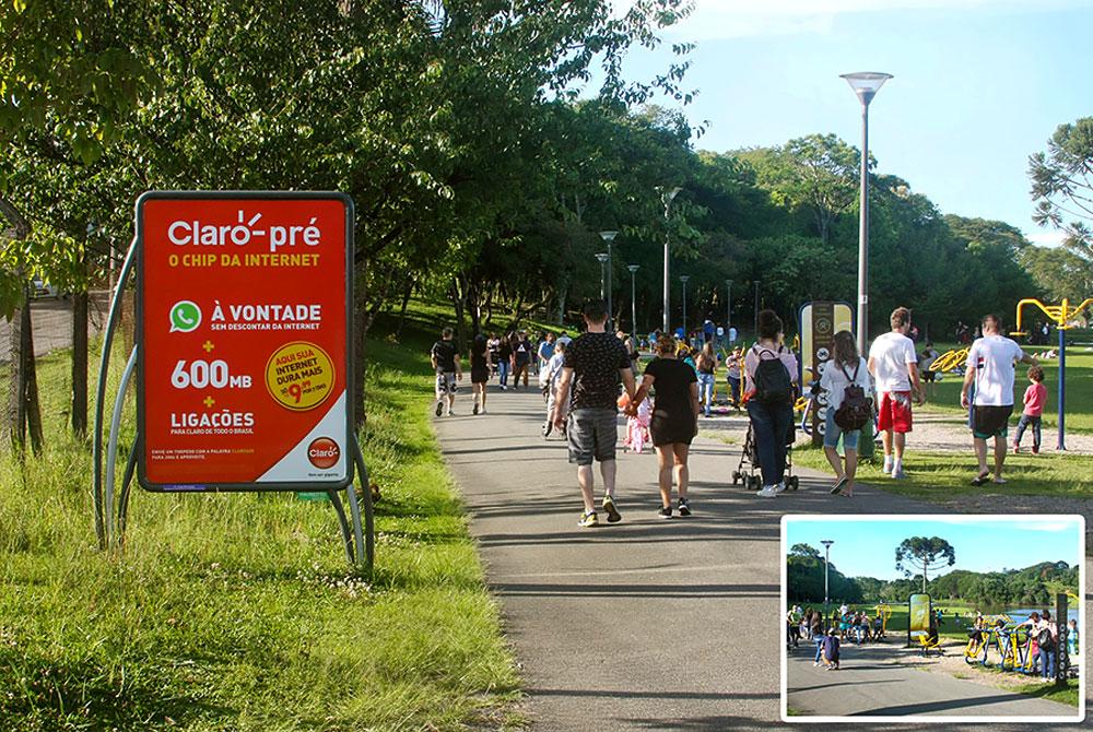 Fit Board - O mobiliário urbano em parques e praças de Curitiba